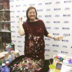 Он-лайн в прямом эфире мастер-класс «Как рисовать на одежде Надежды» 5 января
