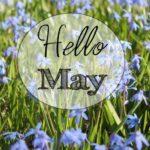 Расписание мероприятий в мае.