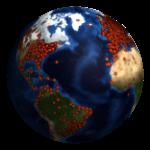 261,137 визита из 140 стран на сайт Академии Арткоучинга