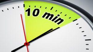 10 минут