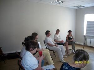 """Тренинг """"Базовый курс коучинга"""" для директоров по персоналу 2010 год"""