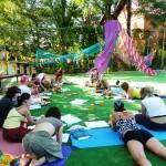Как мы проводили тренинг «Алмазный огранщик» на фестивале йоги